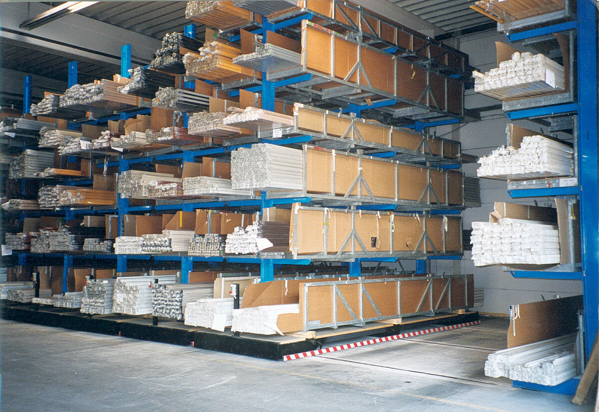 Storage Alu Amp Plastic Cantilever Rack Ohra Gmbh