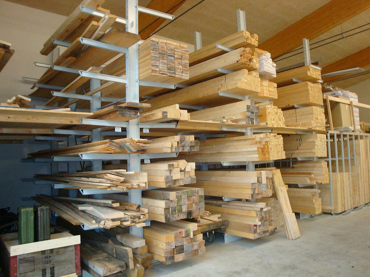 Timber Construction Carpenters Optimum Shelving System