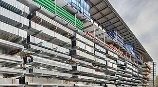 Corrosion protection racking system